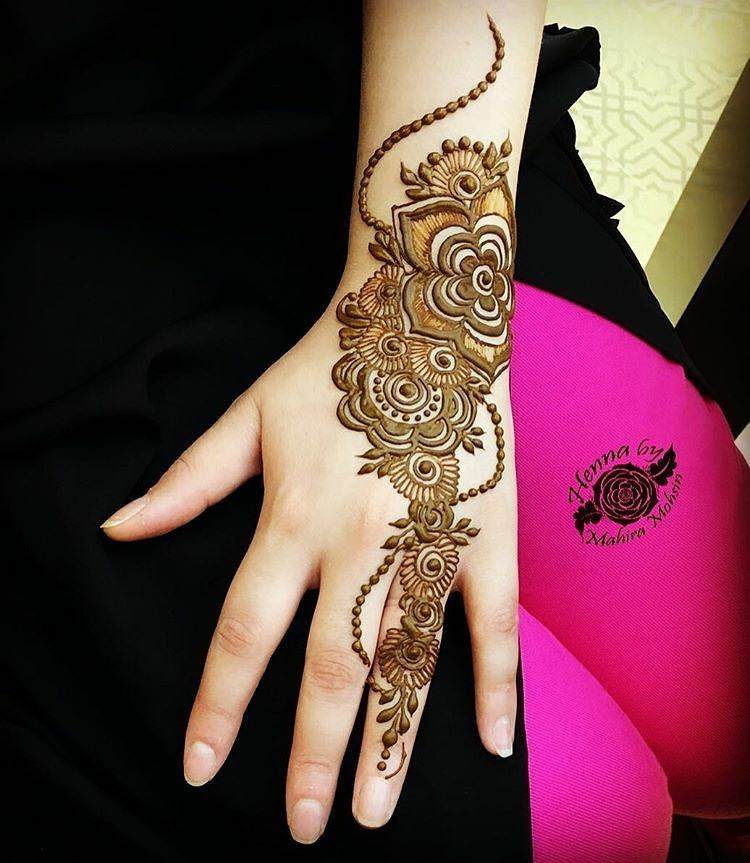 Latest Amp Best Eid Mehndi Designs 2018 2019 Special Collection