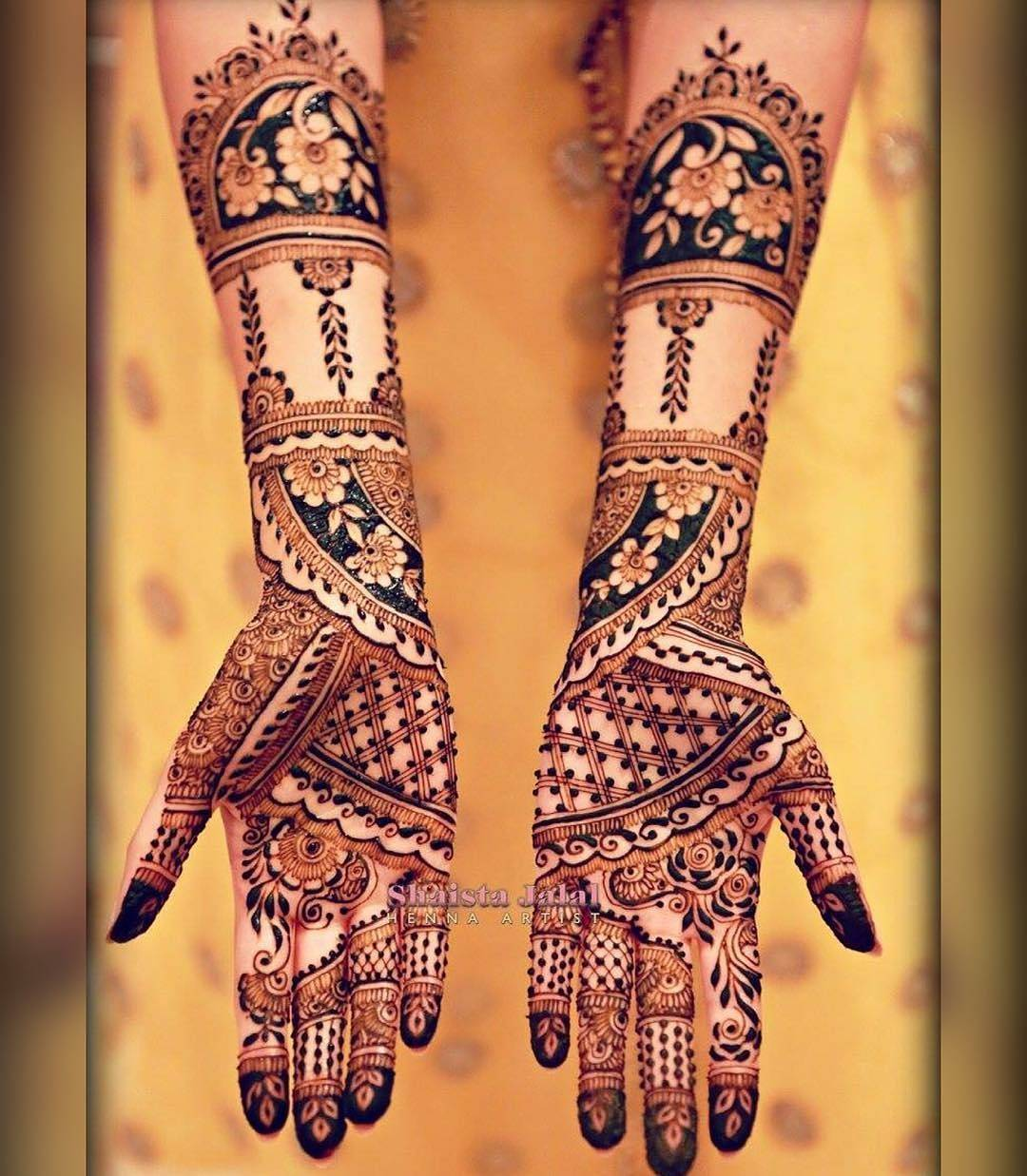 Mehndi design 2017 ki - Original Latest Amp Best Eid Mehndi Designs 20172018 Special Collection