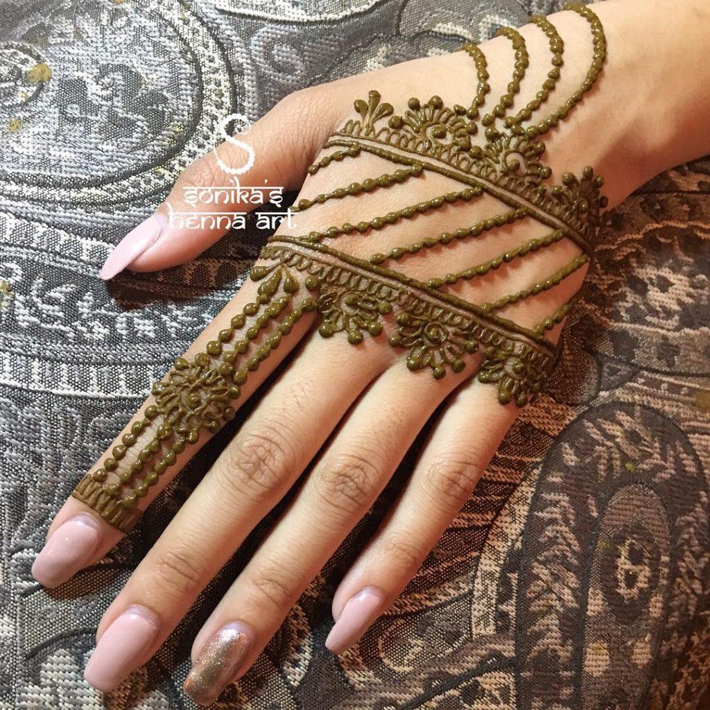 Latest Best Eid Mehndi Designs 2018 2019 Special