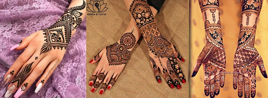 Latest & Best Eid Mehndi Designs Collection 2017-2018