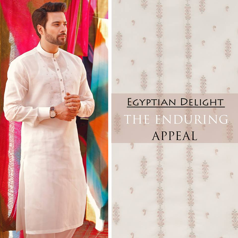 Latest Eid Men Kurta Shalwar Kameez Designs Collection 2017-2018 (2)