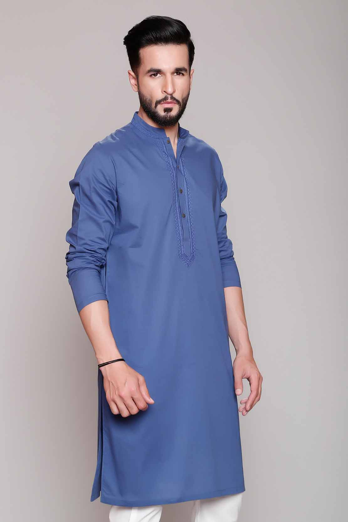 Eid kids kurta shalwar kameez designs 2013 2014 - Latest Eid Men Kurta Shalwar Kameez Designs Collection 2017 2018 3 See