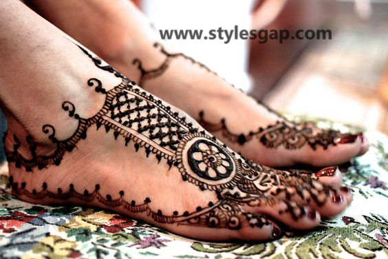 Latest Fancy & Stylish Mehndi Trends & Designs Collection 2016-2017 (11)
