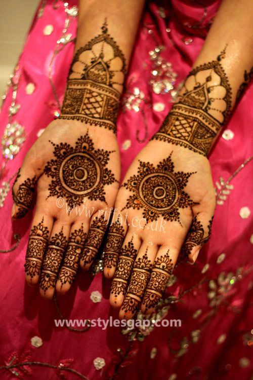 Latest Fancy & Stylish Mehndi Trends & Designs Collection 2016-2017 (14)