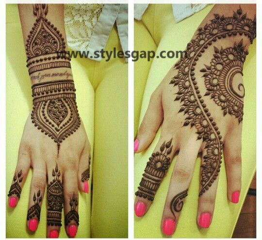 Latest Fancy & Stylish Mehndi Trends & Designs Collection 2016-2017 (23)