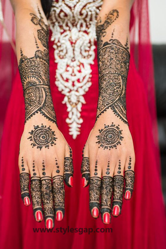 Latest Fancy & Stylish Mehndi Trends & Designs Collection 2016-2017 (30)