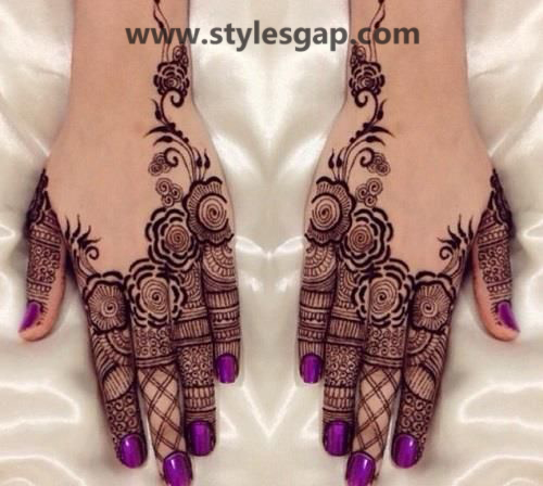 Latest Fancy & Stylish Mehndi Trends & Designs Collection 2016-2017 (31)