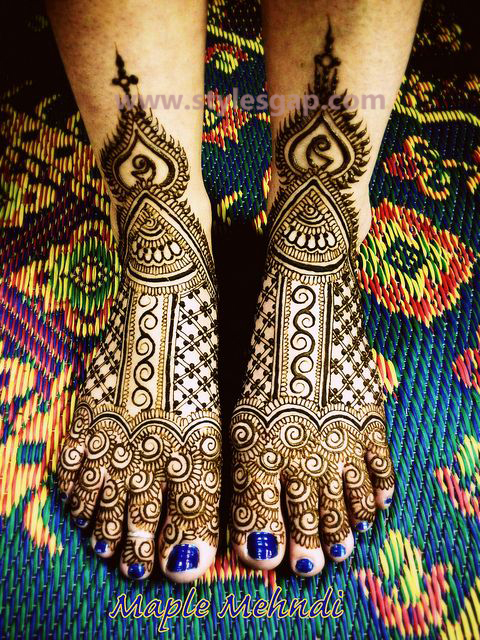 Latest Fancy & Stylish Mehndi Trends & Designs Collection 2016-2017 (32)