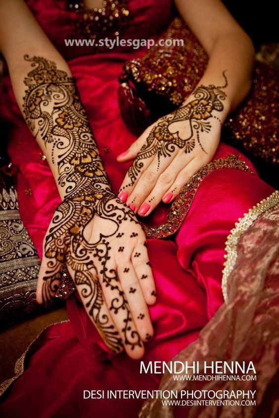 Latest Fancy & Stylish Mehndi Trends & Designs Collection 2016-2017 (35)
