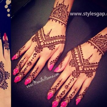 Latest Pakistani Mehndi Designs & Trends Collection 2020-2021