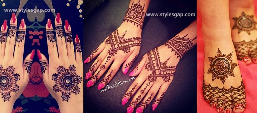 Latest Fancy & Stylish Mehndi Trends & Designs Collection 2016-2017 (40)