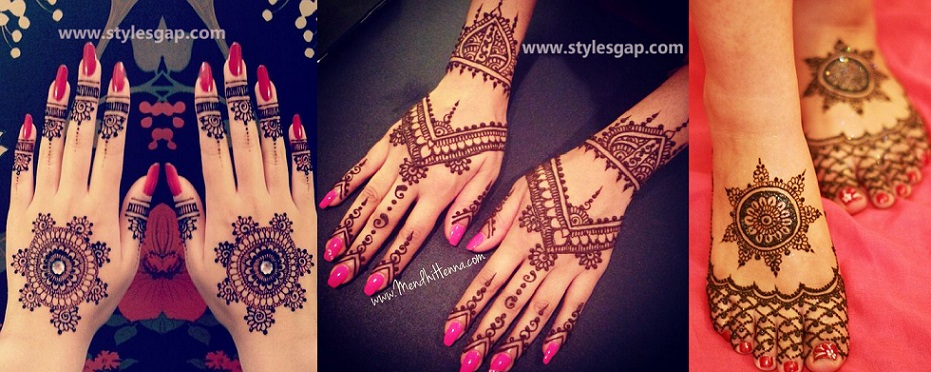 Latest Fancy Pakistani Mehndi Designs Trends 2018 2019 Collection