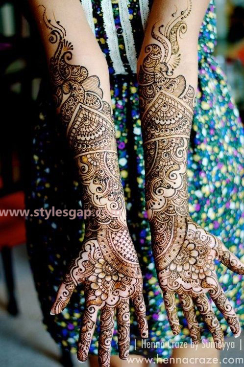 Latest Fancy & Stylish Mehndi Trends & Designs Collection 2016-2017 (8)
