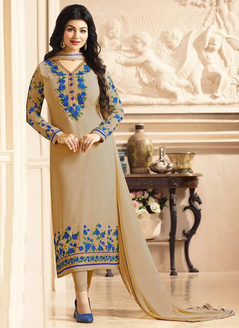 Latest Pakistani Indian Straight Cut Salwar Kameez 2018 19 Designs