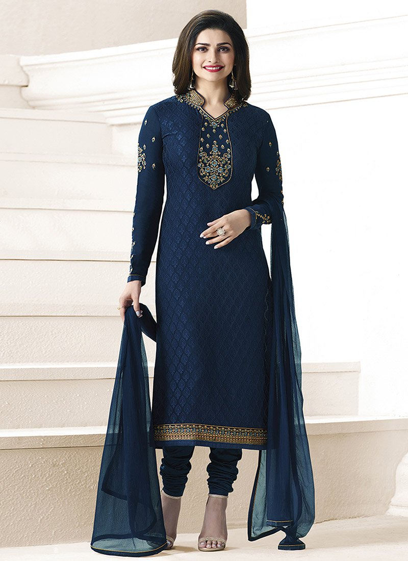 37c651407751e Latest Pakistani Indian Straight Cut Salwar Kameez 2018-19 Collections  consists of beautiful designs of casual and party wear straight cut salwar  kameez ...