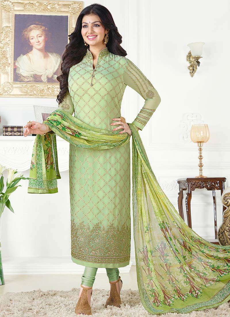Latest Pakistani Indian Straight Cut Salwar Kameez 2018 19 Designs