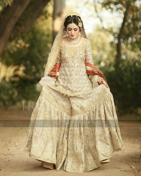 Latest Wedding Bridal Sharara Designs (10)