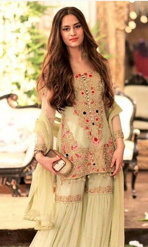 Latest Wedding Bridal Sharara Designs Trends 2018 2019