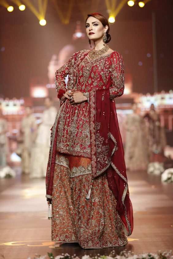 Latest Wedding Bridal Sharara Designs (3)