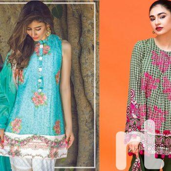 Latest Pakistani Fashion: Trend of Medium Shirts with Cigarette Pants