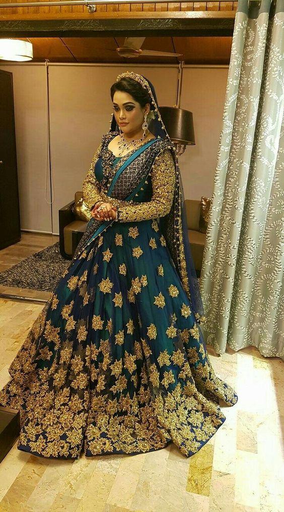 Party Wear Wedding Bridal Lehenga Designs 2017 2018 Collection