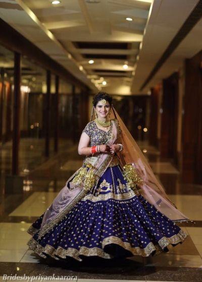 Party Wear Wedding Bridal Lehenga Designs 2020 2021 Collection,Wedding Royal Blue And Gold Bridesmaid Dresses