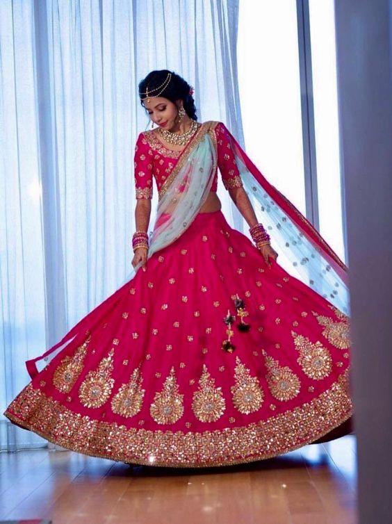 Party Wear Wedding Bridal Lehenga Designs 2018-2019 Collection