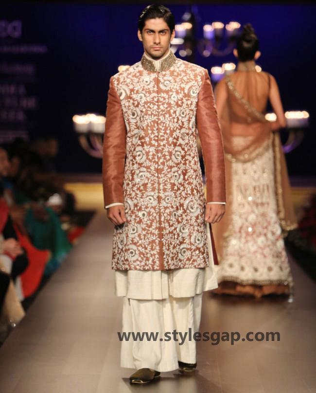 Manish Malhotra Wedding Sherwanis & Party Suits for Men 2016-2017 Collection (11)