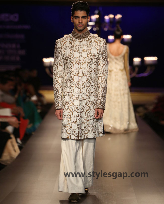 Manish Malhotra Wedding Sherwanis & Party Suits for Men 2016-2017 Collection (12)
