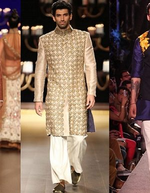 Manish Malhotra Wedding Sherwanis & Party Suits for Men 2016-2017 Collection