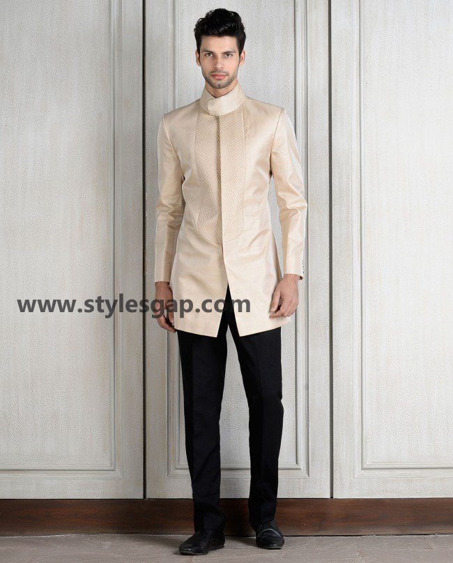 Manish Malhotra Wedding Sherwanis & Party Suits for Men 2016-2017 Collection (9)