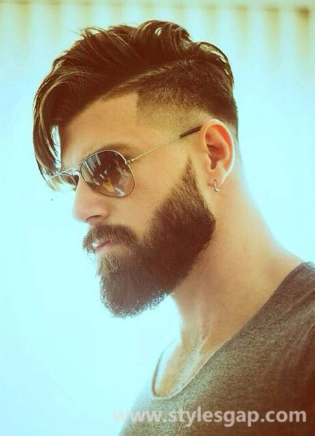 Men Best Hairstyles Latest Trends of Hair Styling & Haircuts 2016-2017 (17)