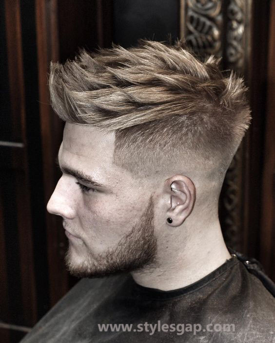 New Model Hair Style : Men Best Hairstyles Latest Trends of Hair Styling & Haircuts 2016-2017 ...