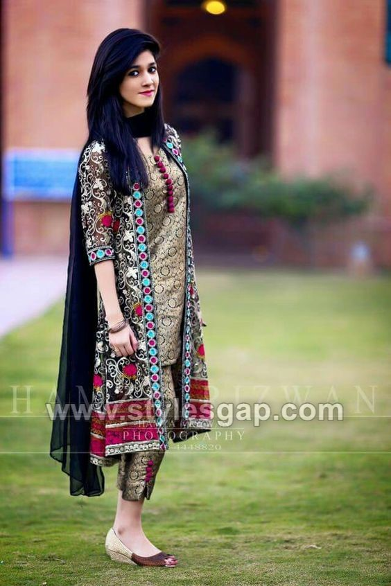 2dfa678e81 Here our blog is featuring the collective Pakistani, Asian and Indian  designer collections of front open double shirts. Here we are Front Open  Double Shirt ...
