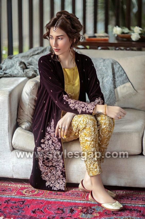 9ed69efb38 Double shirts with heavy embroideries and well-adorned necklines are  suitable for party wear and formal functions. They may be used for events,  festivals, ...