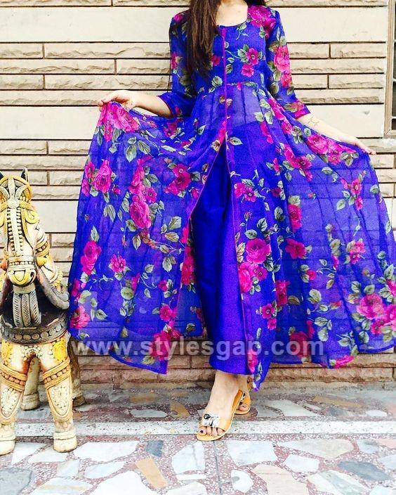 5de179e3f012 Front Open Double Shirt Dresses Designs Collection 2019-2020 Trends