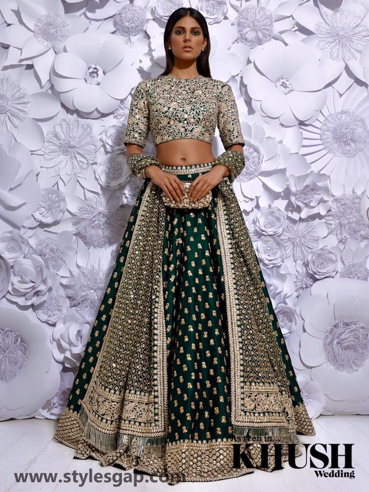 Sabyasachi Mukherjee Latest Wedding Dresses 2016-2017 Collection. Lehengas, Sarees (26)
