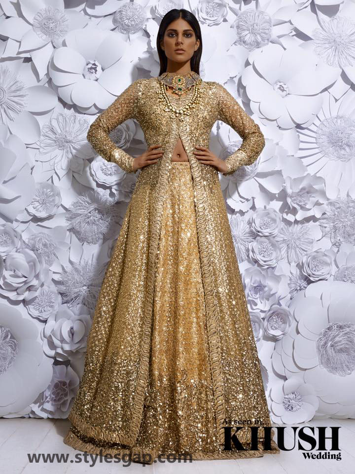Sabyasachi Mukherjee Latest Wedding Dresses 2016-2017 Collection. Lehengas, Sarees (27)