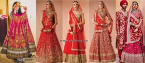 Sabyasachi Mukherjee Latest Wedding Dresses 2017-2018 Collection