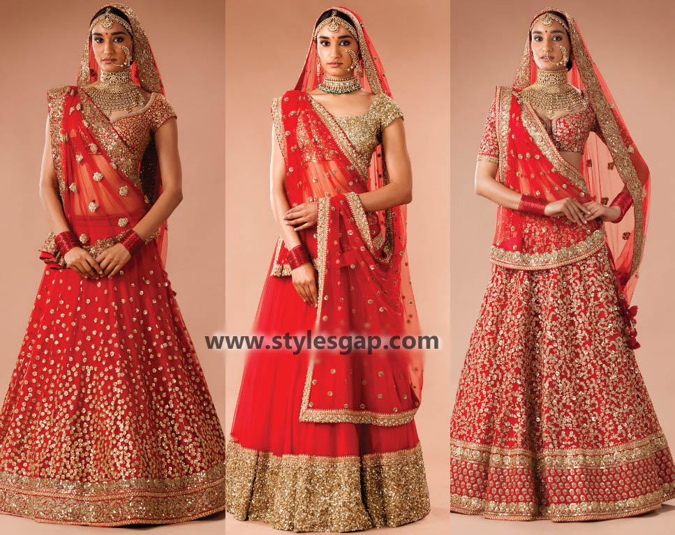 Sabyasachi Mukherjee Latest Wedding Dresses 2016-2017 Collection. Lehengas, Sarees (42)