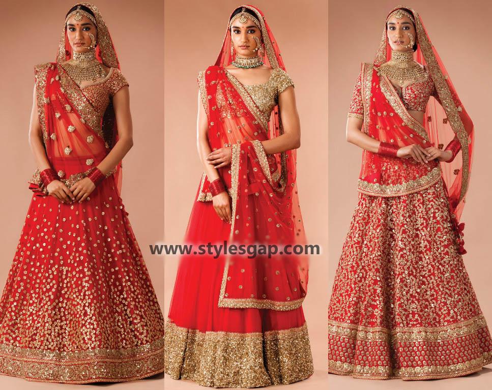 Sabyasachi Mukherjee Latest Wedding Dresses 2016-2017 Collection. Lehengas, Sarees (42)