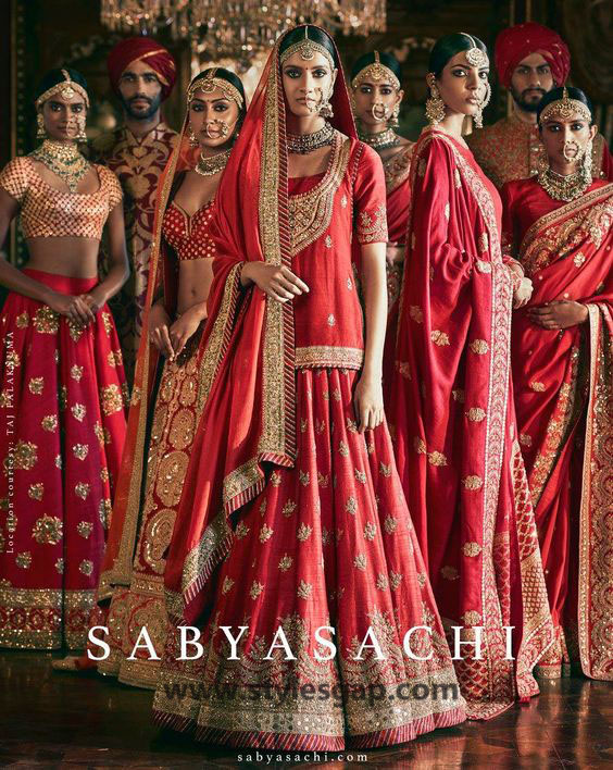 Sabyasachi Mukherjee Latest Wedding Dresses 2016-2017 Collection. Lehengas, Sarees (8)