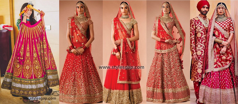 Sabyasachi Mukherjee Latest Wedding Dresses 2016-2017 Collection. Lehengas, Sarees