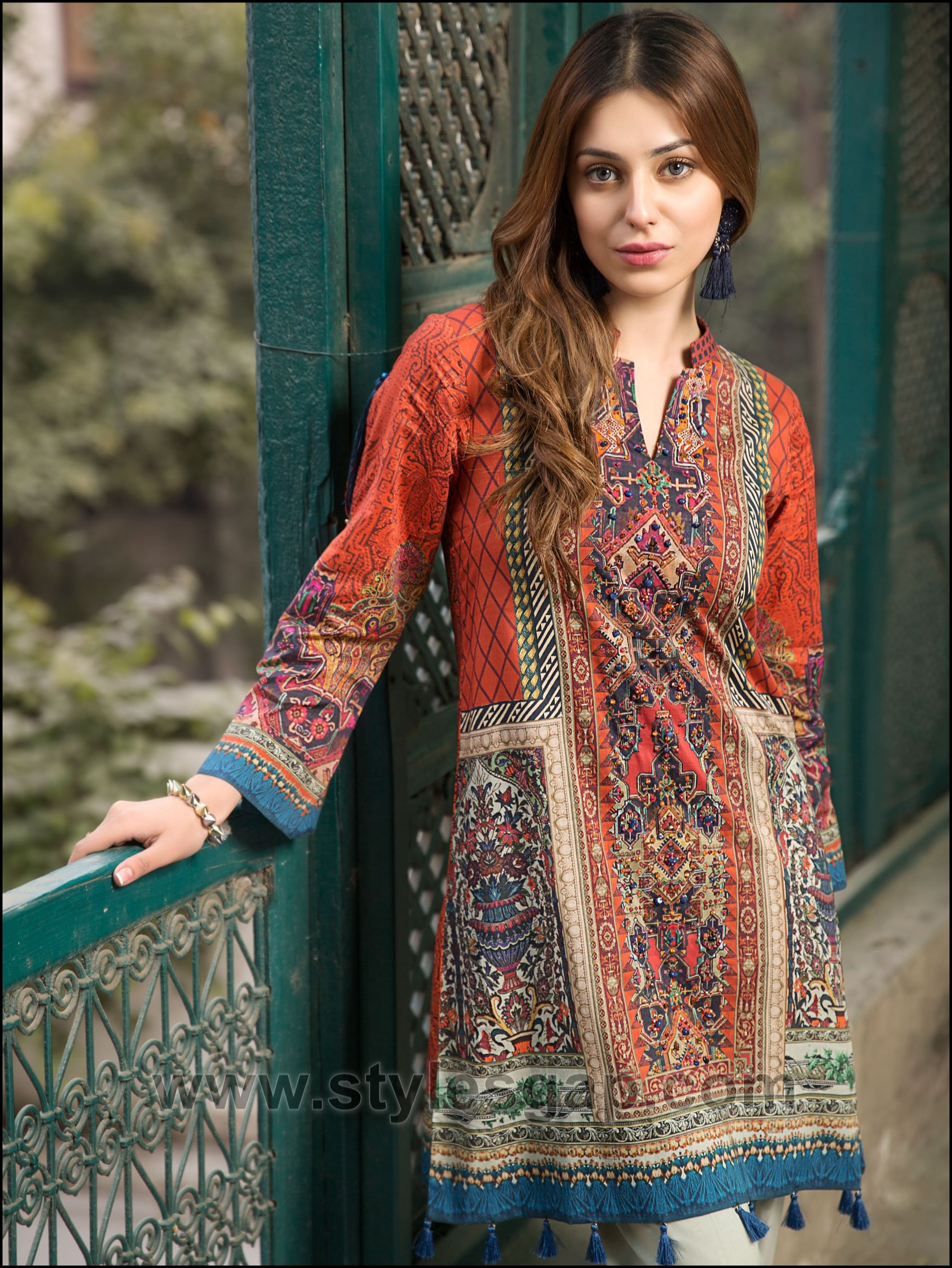 Summer Fashion Lawn Kurti Designs Trends Latest Collection Online