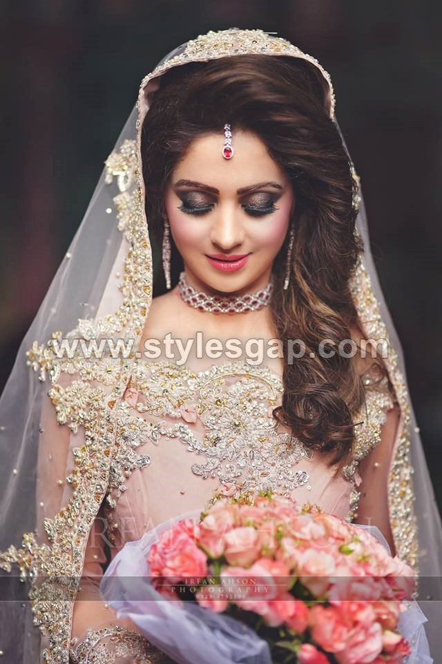 Latest Beautiful Walima Bridal Dresses Collection 2018 19