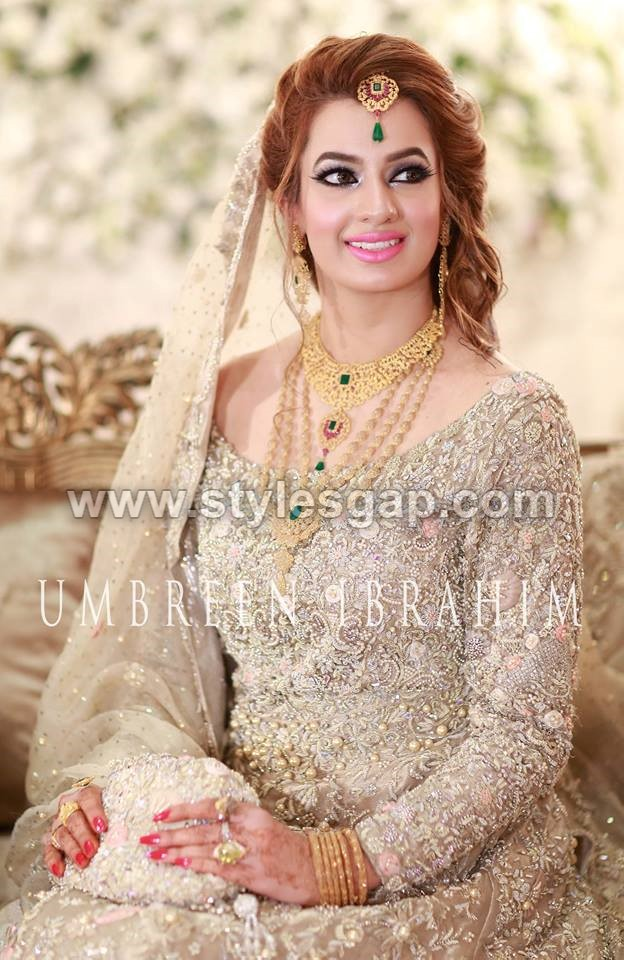 Latest Beautiful Walima Bridal Dresses Collection 2018-19 ...