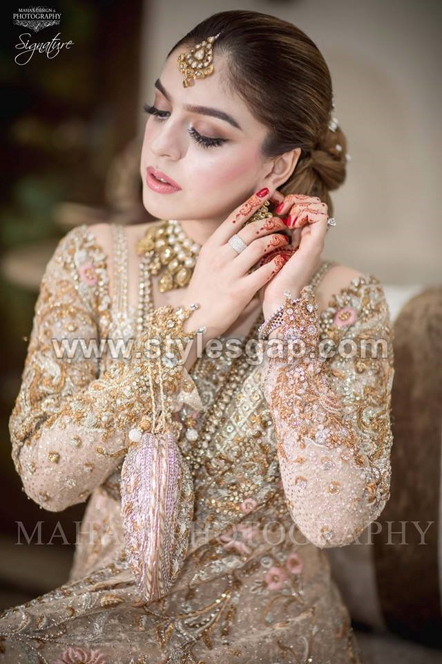 Latest Beautiful Walima Bridal Dresses Collection 2017-18 ...