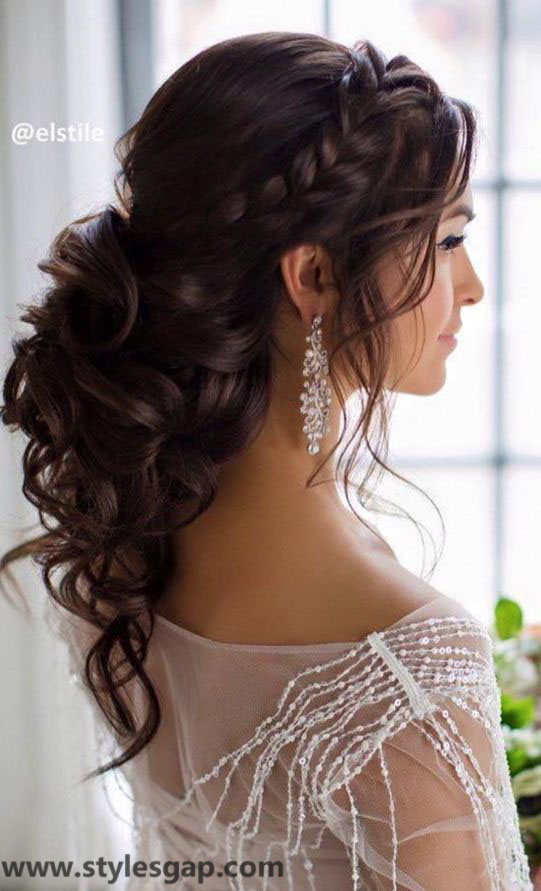 Beautiful Latest Eid Hairstyles Collection 2018 2019 For Women