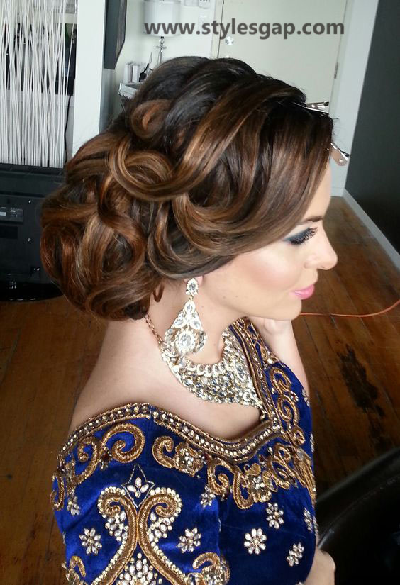 Best & Latest Eid Hairstyles 2016-2017 for Women (22)