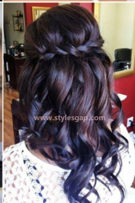 Best & Latest Eid Hairstyles 2016-2017 for Women (3)